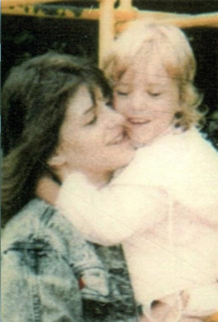"Last time I saw my mom at Legion Park,WA before adopted by abusive ""family"""